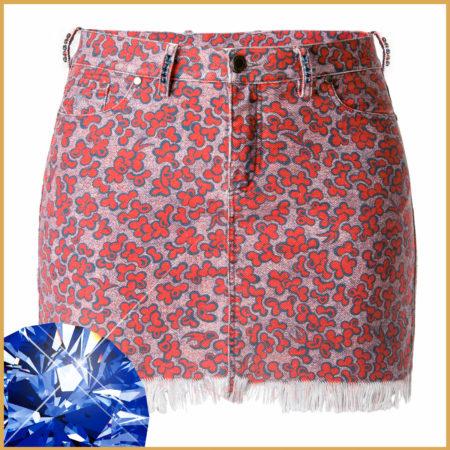 Spring Swarovski Miniskirt