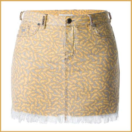 Wings Swarovski Miniskirt