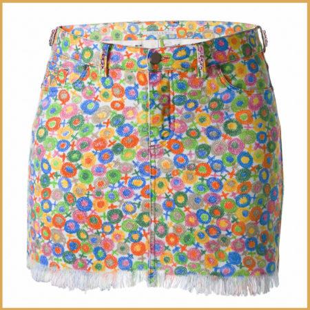 Mary Swarovski Miniskirt